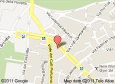 mappa circ. gianicolense