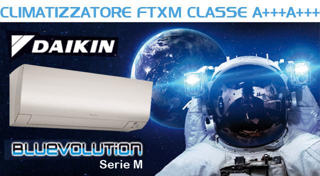 Daikin serie m climatizzatore ftxm m perfera classe a for Climatizzatori classe energetica a