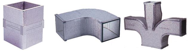 Canali in poliuretano e alluminio - Canalizzazione aria condizionata ...
